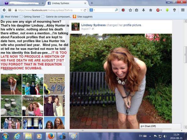Lindsay on Facebook