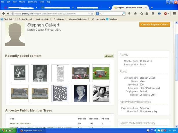 Steven Calvert wonders about Steven Kris Sydness too